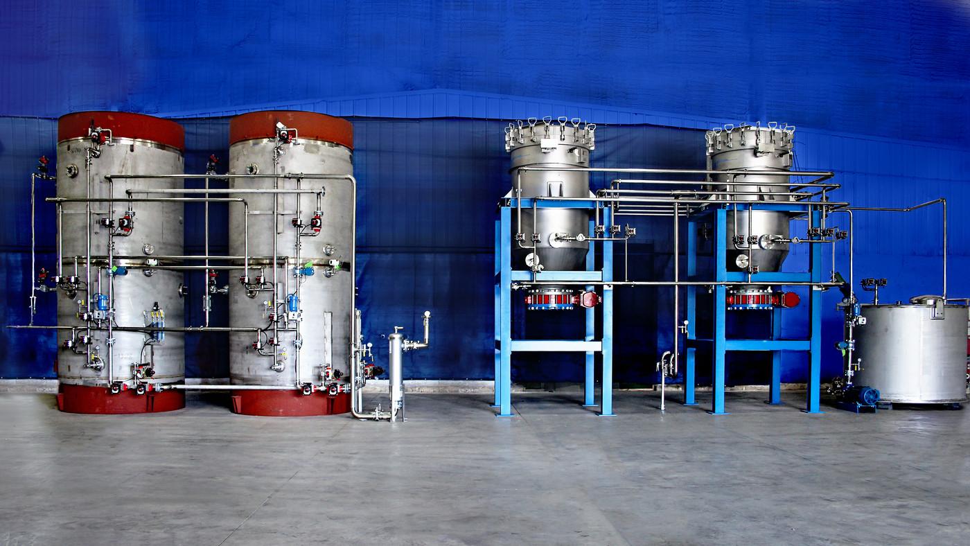 sucrose decolorization equipment by ProSep Ltd