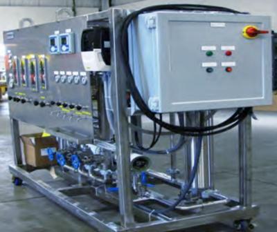 Feasibility test unit by ProSep Ltd