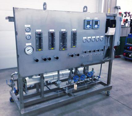 Membrane Filtration Pilot Plant by ProSep Ltd